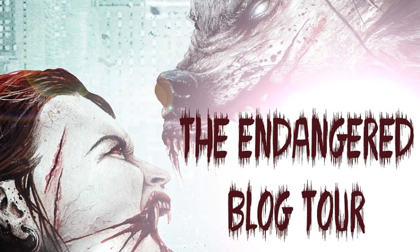 The Endangered by SL Eaves blog tour banner