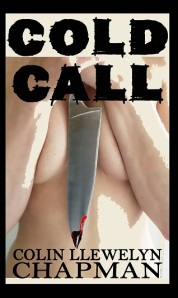 COLD CALL BOOK COVER - with blood SAFE COPY