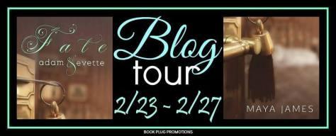 Fate - Blog Tour Banner