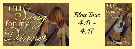 Blog Tour Banner I'll sing for