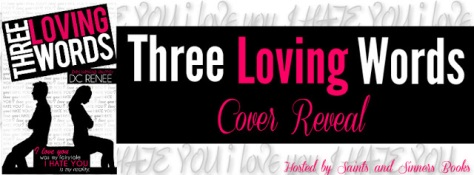 Three Loving Words Cover Reveal