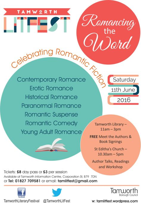 Tam Lit Fest Romantic flyer